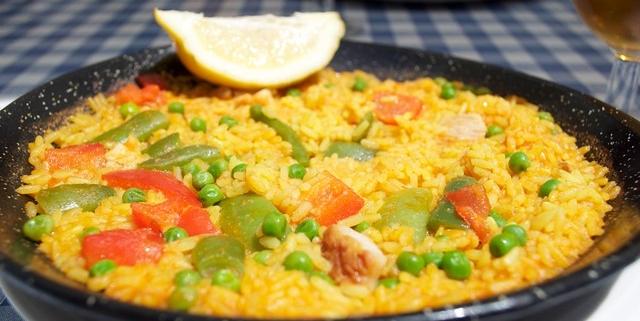 comer arroz